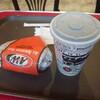 A&W - ドリンク写真:ビッガーチーズバーガーとコーラ