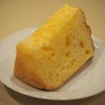 ラグラス - 料理写真:プレーンシフォンケーキ