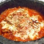 コッテジ - 石焼チーズタッカルビ(激辛)