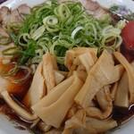 新福菜館 - タケ(メンマ)