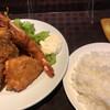 キッチン サカナヤ - 料理写真:ミックスフライ 1400円(税込) ライス大盛り 320円