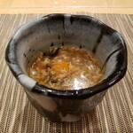 中國菜 心香 - 肉と大根、玉子のスープ。