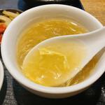 天地あまっち - 冬瓜と玉子のスープ 八角の香りと風味がします