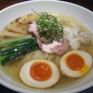 らーめん 鉢ノ葦葉 - 料理写真:らー麺1000円+半熟煮玉子100円