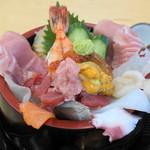 野口鮮魚店 - 2012.10 上海鮮ちらし(1,500円)