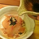 旬鮮 なが田 - 温泉玉子かお茶出汁が選べます