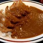 みよしの - 料理写真:ジャンボぎょうざカレー(辛口)