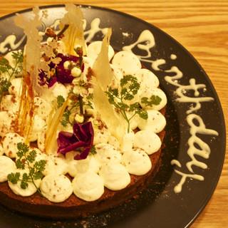 誕生日には無料でBDケーキプレゼント♪