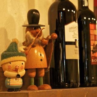 豊富なワイン♪ グラス400円~