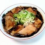 新福菜館 - お取り寄せラーメン 3食入りで1800円込 マイルドなスープに麺と豚が合っていて美味しい