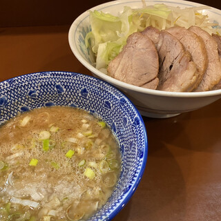 らーめん 陸 - 料理写真:つけめん(900円)+豚増し(200円)