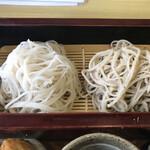 蕎麦戯 さか本 - 料理写真:透き通る御前更科