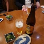 あずまし亭 - エビスビール