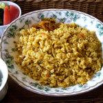 キッサカントリー - 料理写真:ドライカレーセット 1020円