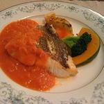 ハーブキッチン パスティス - 鯛のトマトソース