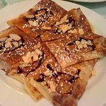 カフェレストラン ROTI - チョコとアーモンドのロティクレープ
