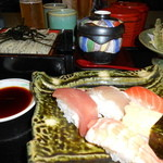 15250505 - へぎ蕎麦&お寿司&天ぷらのセット