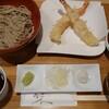 十割舞そば 忠庵 - 料理写真:海老天ぷら十割舞そばセット 1,290円(込み)