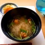 天麩羅 やぎ - お味噌汁