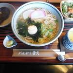 めんぼう壱久 - にゅうめん+茶碗蒸し