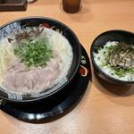 博多一幸舎 - 豚骨ラーメン チャーマヨ丼