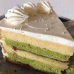 シモキタシマイ - ピスタチオのショートケーキ