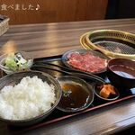 炭火焼肉 寿門 - サービスランチ900円