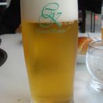 バーベキューガーデン - 地ビール(ピルスナー)@500