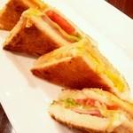 銀座みゆき館 - サンドイッチ(ハーフ)