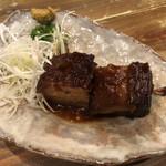 沖縄料理と島酒 星屑亭 - 三枚肉のらふてぃ