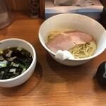 torisobaniboshisobahanayama - つけ麺(850円)