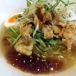 麺王 - 豚肉の冷しゃぶ麺(裏面)