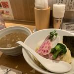 銀座 篝 - 「濃厚煮干つけSoba」1,000円