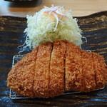 とんかつ神楽坂 さくら - 北海道つや姫豚おろしリブロースかつ定食(1,980円)