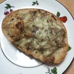 パン工房 ゆみな - さばとオニオンマヨのパン(2個180円)