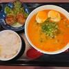 Himawari - 料理写真:ラーメン定食(少し辛い) ¥750