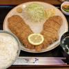 レストラン かつみ - 料理写真: ジャンボチキンかつランチ 830円