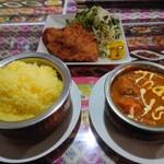 ネワパサ - とんかつ定食(805円)