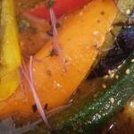 札幌スープカレーJACK - 野菜旨い♪