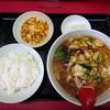 中華料理 花蓮 - 料理写真:令和3年6月 ランチタイム 海鮮五目タンメン定食 1000円