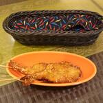 ディヤ - カレー風味のエビ串揚げ