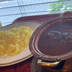 ぶはら - 料理写真:仔羊カリー
