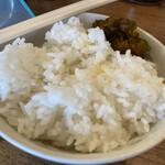 麺通 - ご飯150円