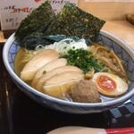 浦安 幸来 - 塩鷄そば 1,000円 + 麺大盛り 50円
