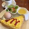 くらんべりー - 料理写真:ブレンドコーヒー¥440(税込) エッグトーストモーニング