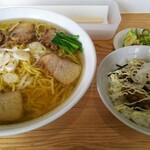 152567769 - チャーシューメン大盛&ミニチャーシューメンマ丼