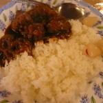 ホルトの木喫茶 - 鶏肉のカレー