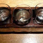 炙屋 - 北海道利き酒セット(1,150円)