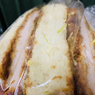 wada - 料理写真:カツサンド