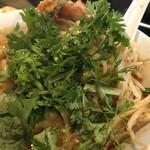 永吉 - パクチー森森で麺を食べました〜